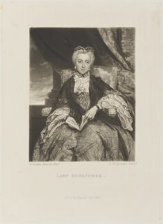 Emma Edgcumbe (née Gilbert), Countess of Mount Edgcumbe, by and published by Samuel William Reynolds, after  Sir Joshua Reynolds - NPG D15175