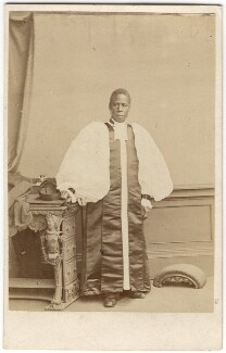 Samuel Ajayi Crowther, by Ernest Edwards - NPG Ax7481