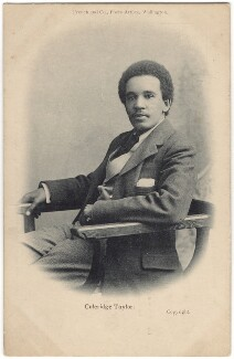 Samuel Coleridge-Taylor, by Harry John Kempsell, for  French and Co - NPG x32771