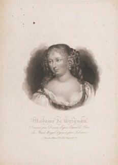 Françoise Marguerite de Sévigné, Comtesse de Grignan, by Alfred Johannot, after  Achille Devéria, after  Petit - NPG D15179