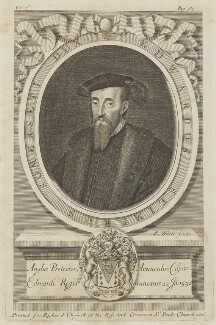 Edward Seymour, 1st Duke of Somerset, by Robert White, printed for  Richard Chiswell - NPG D15192