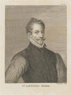 Anthonis Mor (Antonio Moro), by Thomas Chambers (Chambars) - NPG D15198