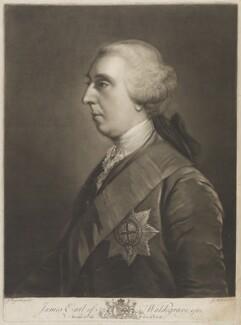 James Waldegrave, 2nd Earl Waldegrave, by James Macardell, after  Sir Joshua Reynolds - NPG D15209
