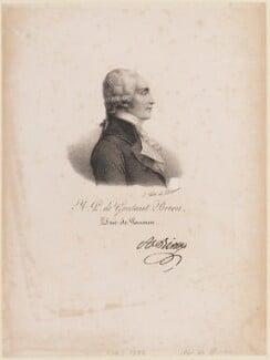 Armand Louis de Gontaut, duc de Lauzun (Biron), by and published by François Séraphin Delpech - NPG D15211