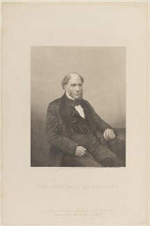 Sir Archibald Alison, 1st Bt, by Daniel John Pound, published by  The London Joint Stock Newspaper Company, after  Werge, published 1859 - NPG D15212 - © National Portrait Gallery, London
