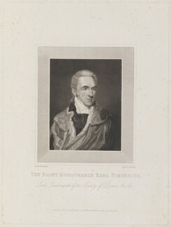 Hugh Fortescue, 2nd Earl Fortescue, by and published by William Raddon, after  Moses Haughton the Younger - NPG D15214