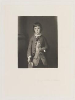 George Greville, 2nd Earl of Warwick and Brooke, by Arthur N. Sanders, after  Sir Joshua Reynolds - NPG D15216
