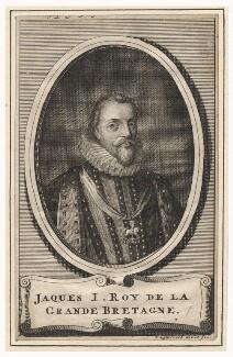 King James I of England and VI of Scotland, by Jan Lamsveld (Lamsvelt) - NPG D18270