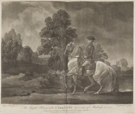 George Pigot, Baron Pigot, by Benjamin Green ('Pott'), published by  Robert Sayer, published by  John Bennett, after  George Stubbs - NPG D15221
