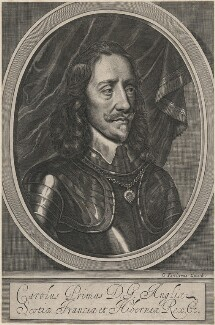 King Charles I, by and published by William Faithorne - NPG D18300