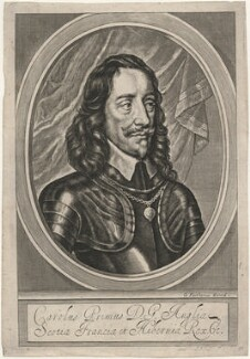 King Charles I, by and published by William Faithorne - NPG D18301