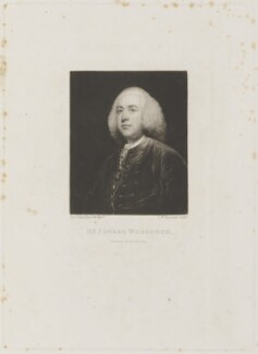 Edward Woodcock, by and published by Samuel William Reynolds, after  Sir Joshua Reynolds - NPG D15238