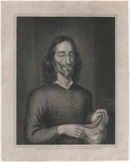 King Charles I, by Robert Cooper, after  Goddard Dunning, (1649) - NPG D18314 - © National Portrait Gallery, London