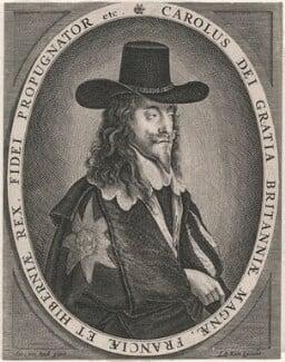 King Charles I, published by Jean or Johannes de Ram, after  Sir Anthony van Dyck - NPG D18320