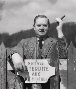 Evelyn Waugh, by Cecil Beaton - NPG x40396