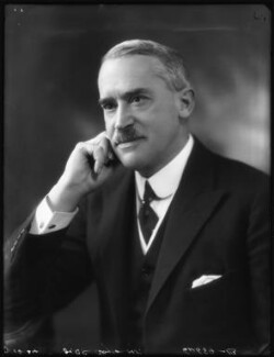 Sir (George) Christopher Clayton, by Bassano Ltd - NPG x122940