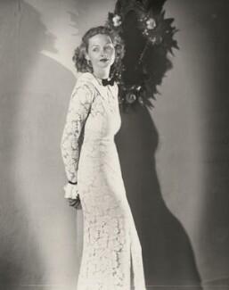 Elizabeth Allan, by Paul Tanqueray, 1934 - NPG x7240 - © estate of Paul Tanqueray