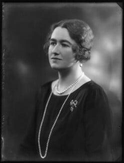 Margery Greenwood (née Spencer), Viscountess Greenwood, by Bassano Ltd - NPG x122960