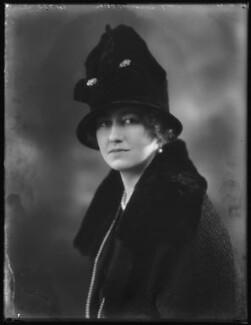 Margery Greenwood (née Spencer), Viscountess Greenwood, by Bassano Ltd - NPG x122961