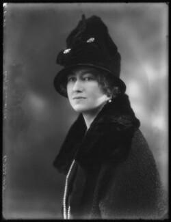 Margery Greenwood (née Spencer), Viscountess Greenwood, by Bassano Ltd - NPG x122962