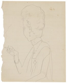 Probably Rita Francis Mosscockle (née Harriet Francis Sparrow), by Cecil Beaton - NPG D3638