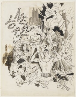 'New York Impressions', by Cecil Beaton - NPG D3624