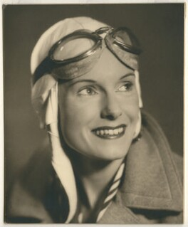 Jean Gardner Batten, by John Nye, 1930s - NPG  - © reserved; collection National Portrait Gallery, London