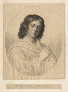 Edward Kynaston, by Richard Cooper, possibly after  Sir Peter Lely - NPG D18327