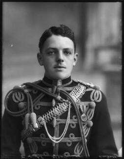 David Lyulph Gore Wolseley, 7th Earl Airlie, by Bassano Ltd, 19 September 1912 - NPG x80041 - © National Portrait Gallery, London