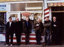British film directors (Stephen Frears; Sir Richard Eyre; Ken Loach; Mike Leigh; Michael Winterbottom; Stephen Daldry), by Mary McCartney, December 2002 - NPG x126206 - © Mary McCartney