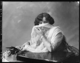 Hilda Trevelyan (Hilda Marie Antoinette Anna Tucker), by Bassano Ltd - NPG x101481