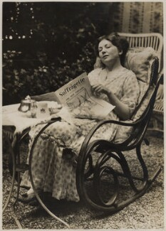 Dame Christabel Pankhurst, by Record Press, September 1913 - NPG x32608 - © National Portrait Gallery, London