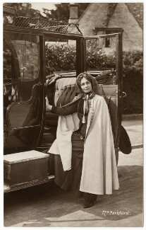 Emmeline Pankhurst, by Wilfred Dennis Moss, 1911 - NPG  - © National Portrait Gallery, London