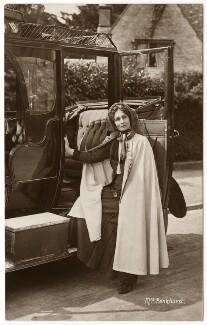 Emmeline Pankhurst, by Wilfred Dennis Moss, 1911 - NPG x46491 - © National Portrait Gallery, London