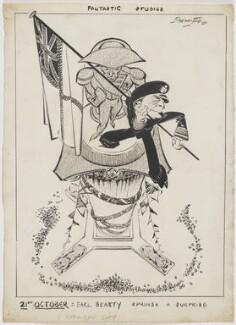 David Richard Beatty, 1st Earl Beatty, by Robert Stewart Sherriffs - NPG D18342