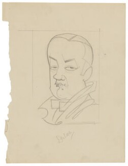 Edmund Dulac, by Robert Stewart Sherriffs - NPG D18347
