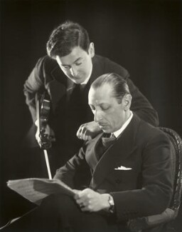 Samuel Dushkin; Igor Fyodorovich Stravinsky, by Paul Tanqueray, 1934 - NPG  - © estate of Paul Tanqueray