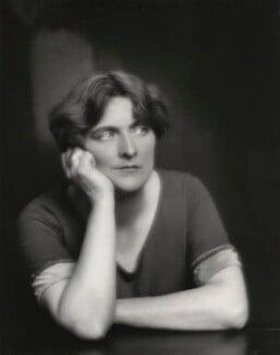 Sybil Thorndike in 'Granite', by Paul Tanqueray - NPG x26871