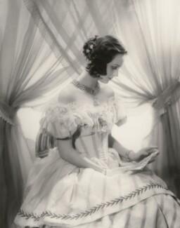 Penelope Dudley-Ward in 'Victoria Regina', by Paul Tanqueray - NPG x27259