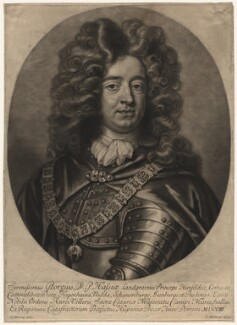 George, Landgrave of Hesse, by and published by John Smith, after  Thomas Murray - NPG D17998