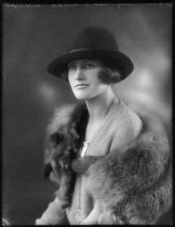 Lady Joyce Gunning Talbot de Malahide, by Bassano Ltd - NPG x122974