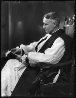 Ernest William Barnes, by Bassano Ltd - NPG x122978