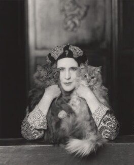 Elinor Glyn, by Paul Tanqueray, 1931 - NPG x16448 - © estate of Paul Tanqueray
