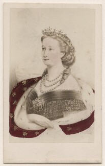 Eugénie, Empress of France ('Eugénie de Montijo'), by Neurdein - NPG Ax46795