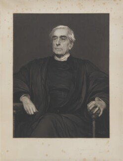 William Hepworth Thompson, by Sir Hubert von Herkomer - NPG D18084