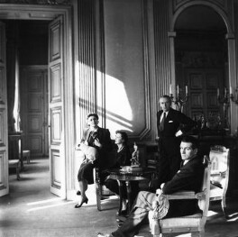 Louise Lévêque de Vilmorin; Vivien Leigh; Cecil Beaton; Laurence Kerr Olivier, Baron Olivier, by Cecil Beaton - NPG x40307