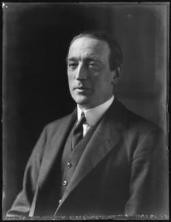 Sir Arthur Herbert Drummond Ramsay Steel-Maitland, 1st Bt, by Bassano Ltd - NPG x123040