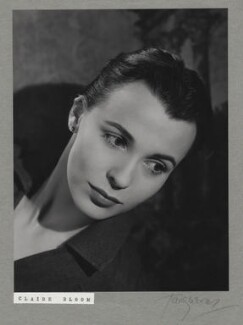 Claire Bloom, by Paul Tanqueray - NPG x7254