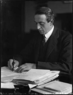 Sir Arthur Herbert Drummond Ramsay Steel-Maitland, 1st Bt, by Bassano Ltd - NPG x123041