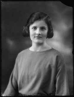 Mary Lilian Manningham-Buller (née Lindsay), by Bassano Ltd - NPG x123043